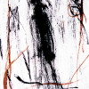 random figure IV, photo of inkdrawing on dibond with resin topcoat (10 prints), 2012 -