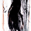 random figure V, photo of inkdrawing on dibond with resin topcoat (10 prints), 2012 -