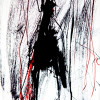 random figure I, photo of inkdrawing on dibond with resin topcoat (10 prints), 2012 -