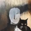 il me faut tout oublier, oil on canvas, 60x50cm, 2017
